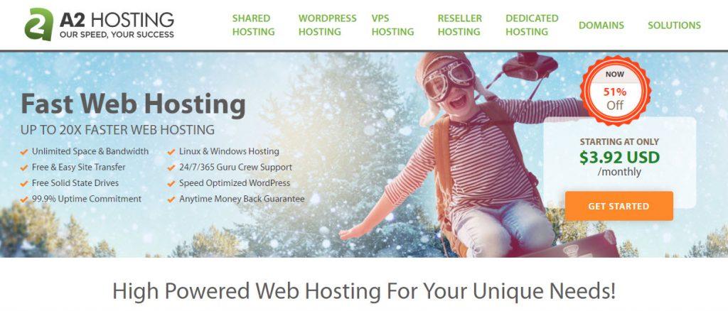 استضافة اي تو هوستنج a2hosting
